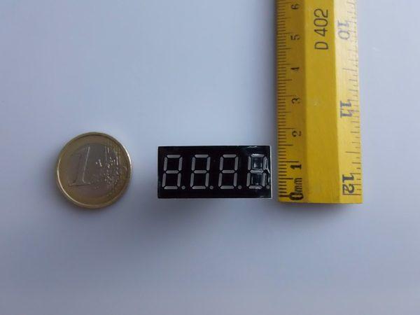 4 digits 7 segment LED Digitale white color Arduino compatibile