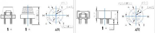 MQ-5 gas Sensore natural gas city gas Sensore gas Sensore arduino compatibile