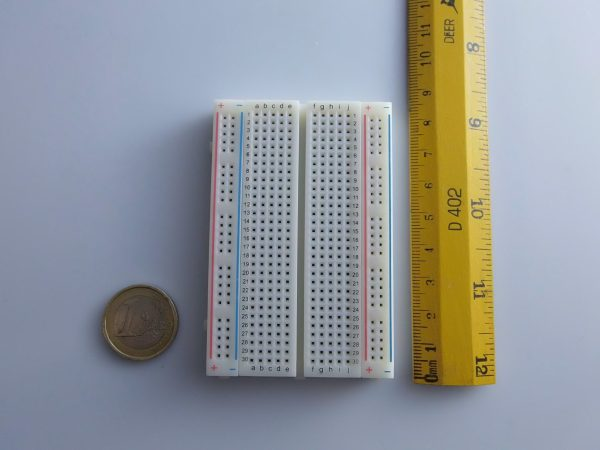Breadboard 83X55 400pins Mini Solderless Electronic Educational Toy arduino