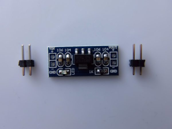 Modulo di Alimentazione 5.0V AMS1117-5.0V fixed regulated output-