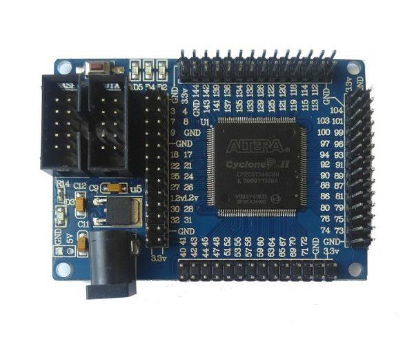 ALTERA FPGA CycloneII EP2C5T144 minimum system, learning board Scheda di Sviluppo