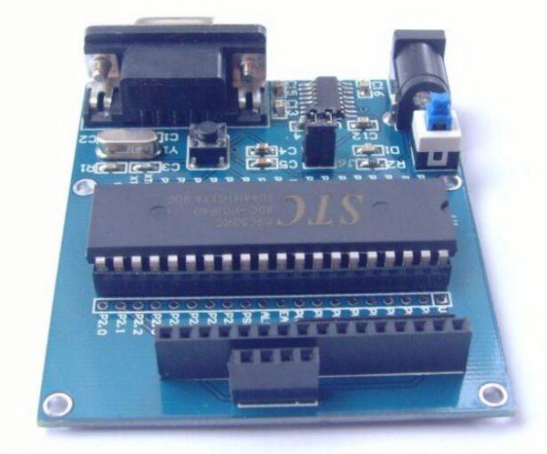 STC89C52 Scheda di controllo per sensori ad ultrasuoni