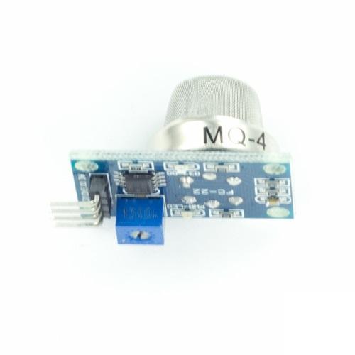 MQ-4 Modulo Sensore per Arduino, per la rilevazione di fumo, metano e gas liquefatti infiammabili