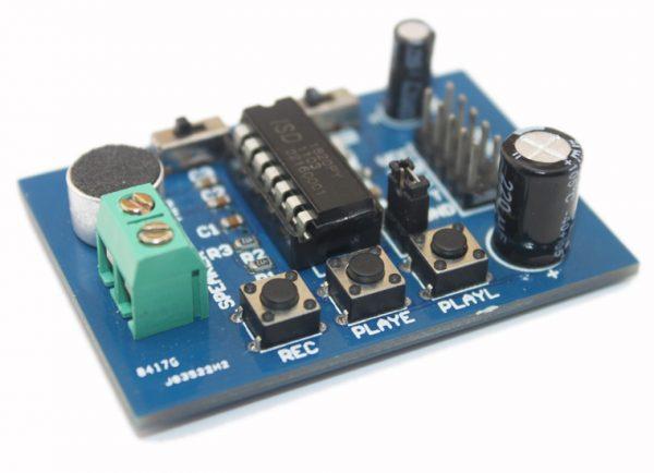 The blue PCB version, ISD1820 Voce boards, Voce Modulo, Suono Registrazione or reproducing Modulo (on-board Microfono)