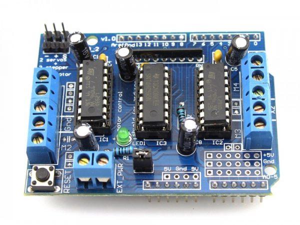 Arduino Motore-driven Scheda Espansione Motore control shield L293D Motore plate