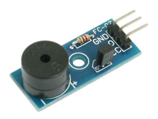The active buzzer Modulo, trigger low, buzzer control panel