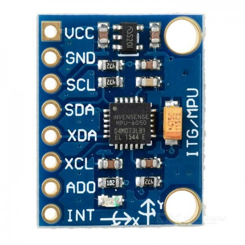GY-521 MPU-6050 Modulo, triaxial Digitale, Giroscopio 6DOF Modulo, code schematic