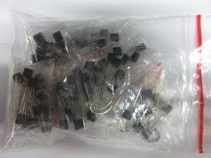 TO-92 triode Kits, 10 Pezzi of 18kinds: S9011 S9012 S9013 S9014 S9015 S9018 A1015 C1815A42 A92 2n5401 2n5551 A733C945 S8050 S855