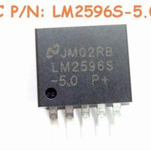 4 Pezzi LM2596S-5.0 IC Circuiti Integrati