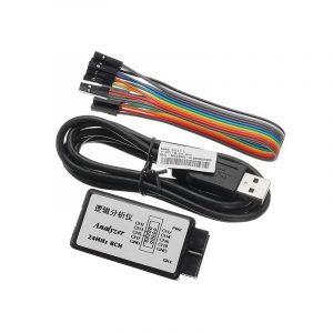 Logic Analyzer, USB Saleae 24M 8CH, logic analyzer USBee AX dual function