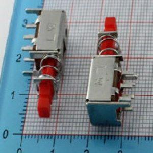 2 Pezzi Not self-locking Pulsante, bottone Pulsante, PS-22F03 Pulsante