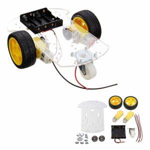 Smart car Telaio tracing car with Cinghia encoder Batteria holder