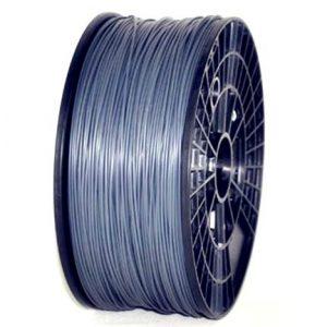 ABS 3.00mm 1KG 3D printer consumables silver HIGH QUALITY GARANTITA SU MAKERBOT, MULTIMAKER, ULTIMAKER, REPRAP, PRUSA