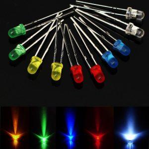 20 Pezzi LED Assortiti (4 pezzi per colore)