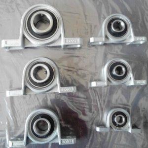 KP000 10-ID Cuscinetto in lega di zinco Miniature Vertical Cuscinetto