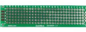 2 Pezzi 2x8cm Double Side Prototipo PCB Universal Printed Circuit Board