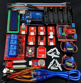 H020 Smart Home Learning Android Bluetooth Arduino Uno R3 Compatibile XBEE LCD1602 Kit