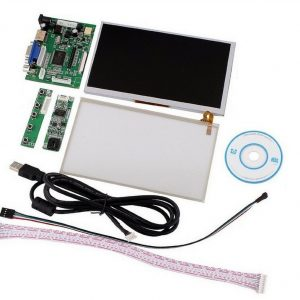 """INNOLUX 7"""" inch Raspberry Pi LCD Touch Schermo Display TFT Monitor AT070TN90 with TouchSchermo Kit HDMI VGA Input Driver Board"""