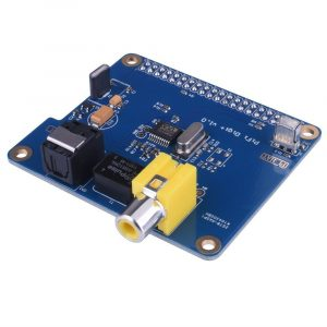 PiFi Digi+ Pi HAT Scheda Audio Digitale I2S SPDIF Raspberry PI 3 2 model B B+