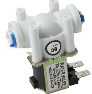 G1/4 DC12V PE Pipe NC Elettromagnetico Acqua Valvola