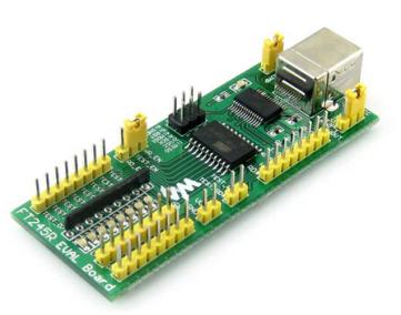 FT245 EVAL Board FT245R FT245RL USB to Parallelo FIFO Evaluation Development Modulo Kit (Green)