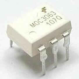 MOC3063 optocoupler TRIAC 600V