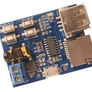 TF Card U Disk MP3 Format Decoder Board Amplificatore Audio Player Modulo