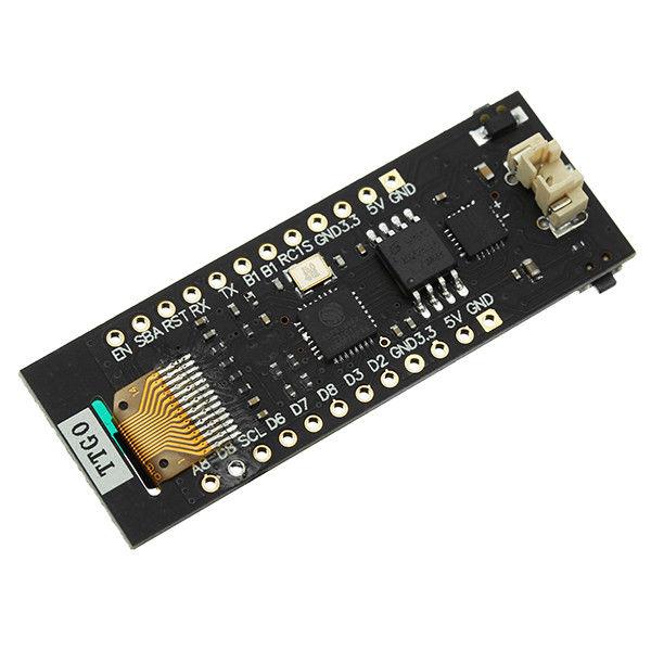 """WeMos TTGO ESP8266 Chip WiFi 0.91"""" OLED CP2014 ESP8266 WiFi Modulo nodemcu per Arduino"""