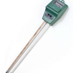 Misuratore di umidità interna / esterna, monitor per l'acqua del suolo, idrometro per giardinaggio