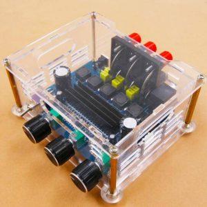 XH-M566 potenza TPA3116D2 amplificatore di potenza stereo digitale 2.1 + amplificatore audio subwoofer