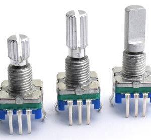 EC11 20pints 15mm 5pins Codificatore / interruttore di codifica / potenziometro digitale audio