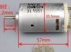 Motore 550 DC Motore trapano elettrico Coppia elevata 12V 21000 giri / min